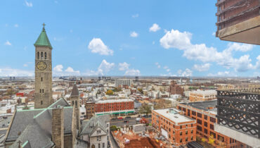 Beautiful two bedroom with panoramic city views!