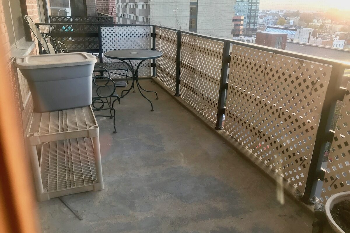 Large one bedroom with terrace plus den