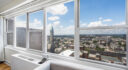 Spectacular one bedroom with panoramic Jersey City views