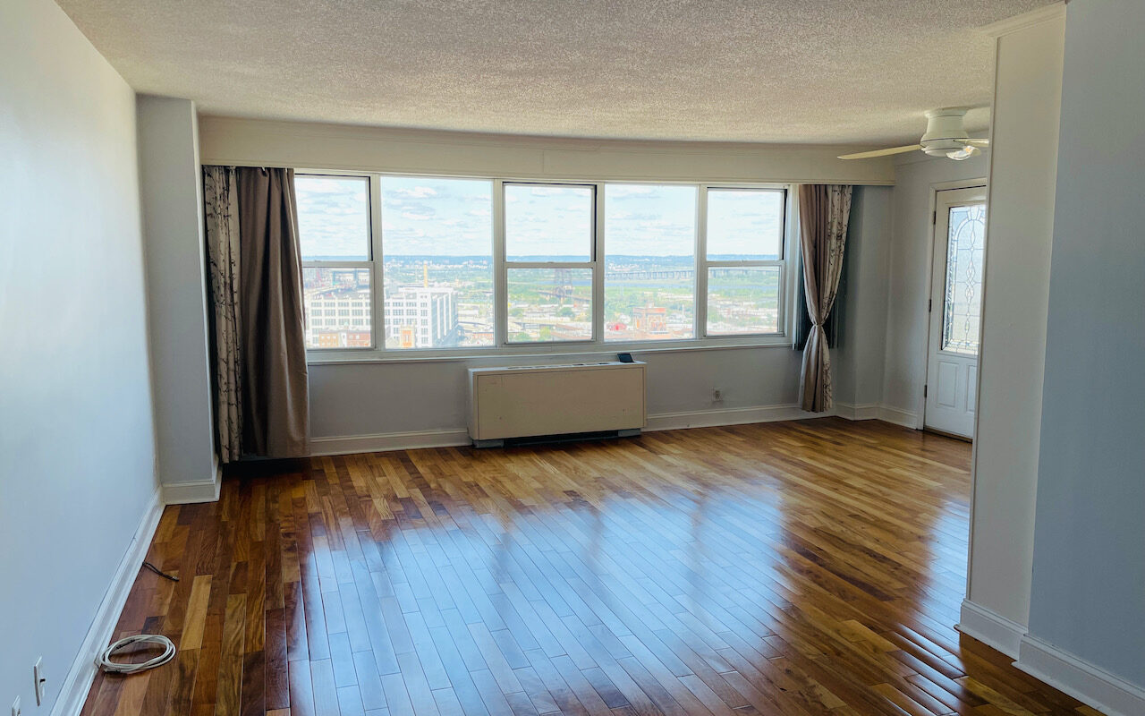 Large one bedroom on the 16th floor near JSQ PATH Station with Terrace